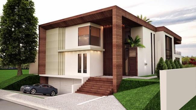 construção de casas de alto padrão
